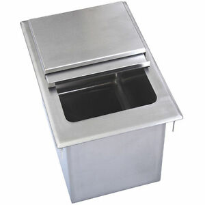 Drop In Ice Bin W Lid 34 X 18 Bbk dibl 3418