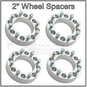Set Of 4 Wheel Spacers 2 Inch 8x170 Fits Ford Heavy Duty Trucks F250 F350 8 Lug