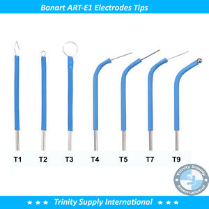 Electrode Set Of 7 Tips For The Art e1 Electrosurgery Great Option By Bonart
