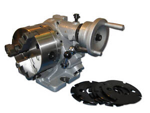 6 Deluxe Super Rotary Index F36 3 Jaw Chuck Included