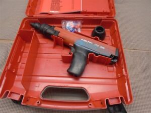 Hilti Dx36 Semi automatic Powder actuated Nail Gun W Case 27 Caliber Used