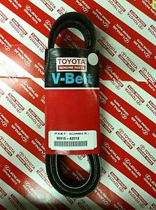 Toyota Genuine Parts 90916 a2012 Alternator And Fan Belt Camry Rav4 And More