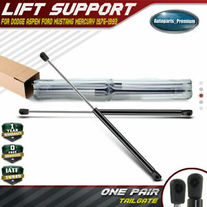 2x Tailgate Hatch Lift Supports Shock Struts For Ford Mustang 79 93 Capri 4686