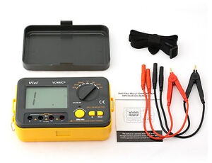 Vici Vc480c 3 1 2 Multimeter Digital Milliohmmeter