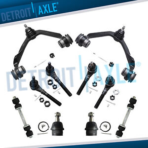 4wd 10pc Front Upper Control Arm Ball Joint Kit 97 99 F150 Expedition Navigator