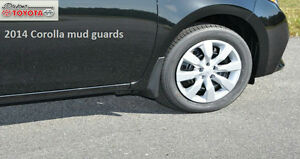 2014 2016 Southeast Toyota Corolla Mudguards Mud Flaps 00016 12017