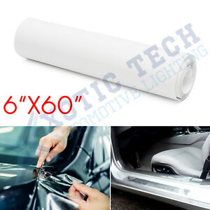 6x60 Clear Door Sill Edge Paint Protection Scratches Vinyl Film She