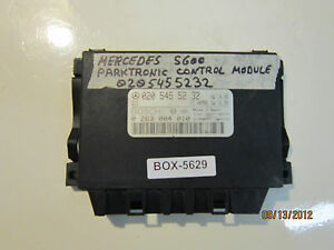 Mercedes S 600 Parktronic Control Module 0205455232 See Item Description