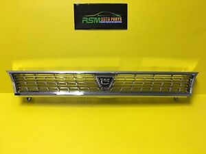 Toyota Corolla 93 97 Chrome Grill Jdm Version Ae100 Ae101