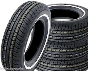 4 Milestar Ms775 205 70r15 95s Sl All Season White Wall Tires 205 70 15 New