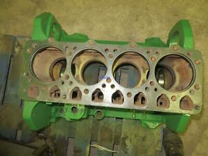 John Deere Jd 4 254 4 270 Engine Block Used Holes Drilled In Webbing To Preven