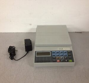 Hasler Model Wjs10 Calculated Postal Weight Scale W Ac Adapter
