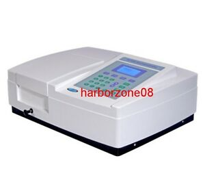 Uv vis Ultraviolet Visible Spectrophotometer W pc Scanning Software 190 1100nm