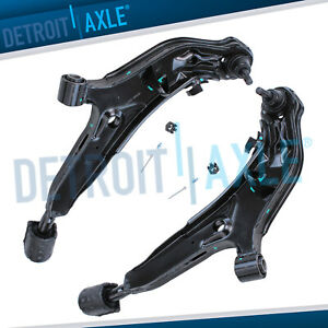 For 1995 1999 Nissan Maxima Front Lower Control Arm Ball Joint Pair New Set