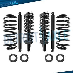 Complete Front Rear Strut Shock Air To Coil Spring Conversion Kit Gmc Envoy