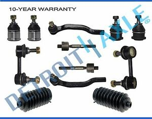 Brand New 12pc Complete Front Suspension Kit Fits Honda Accord And Acura Tl Cl