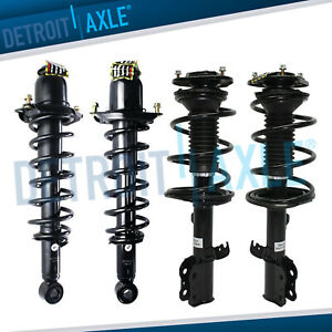 4pc Front And Rear Struts For 2003 2004 2005 2006 2007 2008 Toyota Corolla 1 8l