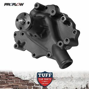 Ford Cleveland 302 351 V8 Proflow Aluminium Action Series Water Pump Black Alloy