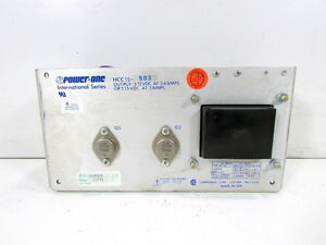 Power one Hcc 15503 Power Supply 2amp 100 240vac 47 63hz xlnt