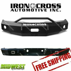 Iron Cross Hd Front Rear Bumper Fits 2006 2009 Dodge Ram 2500 3500