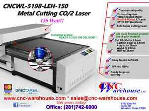 Cnc Warehouse professional Laser engraver Model Cncw 5198 lch 150