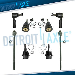 2006 2008 Dodge Ram 1500 2wd Rwd Only 8pc Complete Front Suspension Kit
