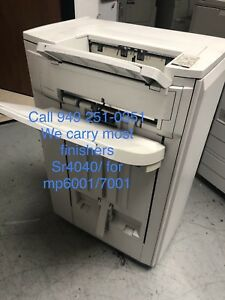 Copier Finisher Sr4040 booklet Finisher ricoh Mp6001 7001 stapler Sorter used