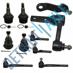 New 10pc Complete Front Suspension Kit For 97 99 Dodge Ram 1500 2wd Rwd