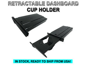 Oe Replacement Retractable Passenger Cup Holder For 04 10 Bmw 5 Series E60 E61