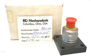 New Ird Mechanalysis 960m Accelerometer