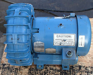 Eg g Rotron Dr623ay72 Blower 4 3 Hp 2850 Rpm Motor 208 230 460v 3ph