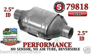 79818 Eastern Performance Universal Catalytic Converter 2 5 Pipe 12 Body