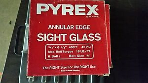 Pyrex Sight Glass