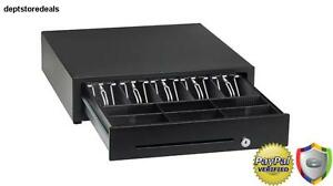 Cash Boxes Key Lock Drawer Inserts Bill Coin Trays Money Safe Office Point Duty