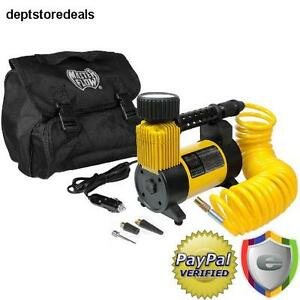 Portable Air Compressor 12v Car Auto Boat Tire Inflator Cyclone High Volume Pump