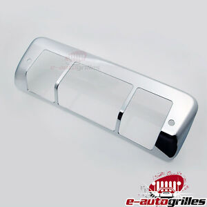 Triple Chrome Plated Abs Third Brake Tail Light Cover For 04 08 Ford F150