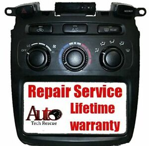 2001 2007 Toyota Highlander Manual Heater And A C Climate Control Repair Service