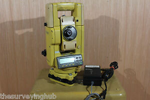 Topcon Gpt 1001 2 Prismless Total Station