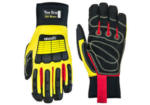 Cestus Tow Grip 201 Winter Cotton Insulated Waterproof Impact Gloves