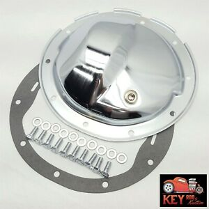 10 Bolt Chrome Differential Rear End Cover Chevy Gm 8 5 8 1 2 Truck 1500 Camaro