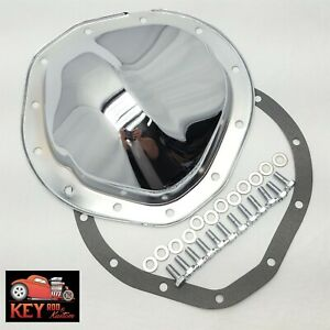 Chevy 12 Bolt Truck 8 75 Chrome Rear Differential Cover C10 K10 Blazer Gasket