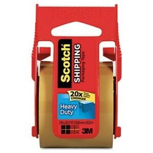 3850 Heavy duty Packaging Tape In Sure Start Disp 1 88 X 22 2yds Tan