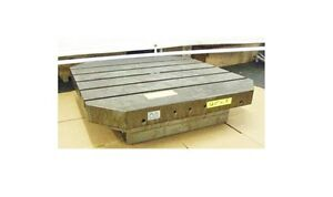 32 X 32 Sub Plate Fixture Grid Subplate Table T slots