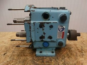 Waukesha Cherry Burrell Rotary Positive Displacement Pump 030