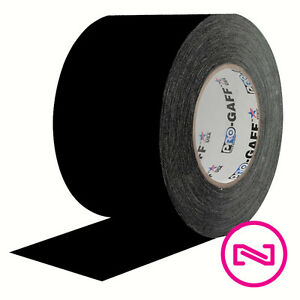 Protapes Pro Gaff Black Gaffers Tape 4 X 55 Yd Roll