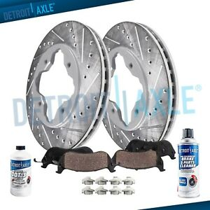 1990 1994 1995 1996 1997 Honda Accord Front Drilled Brakes Rotors
