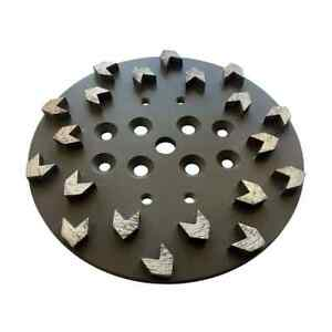 10 40 50 Arrow Seg Diamond Grinding Plate For Concrete Grinders