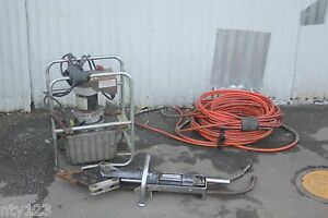 Jaws Of Life Hydraulic Rescue System With Power Unit 12v