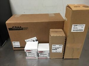New Holland Skid Steer Filter Set Lx865 Lx885 L865 W metal Air Cleaner W Cooler