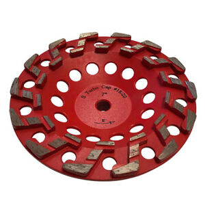 7 Aggressive Diamond Grinding Concrete Cup Wheels 5 8 11 Arbor 20 25 Grit